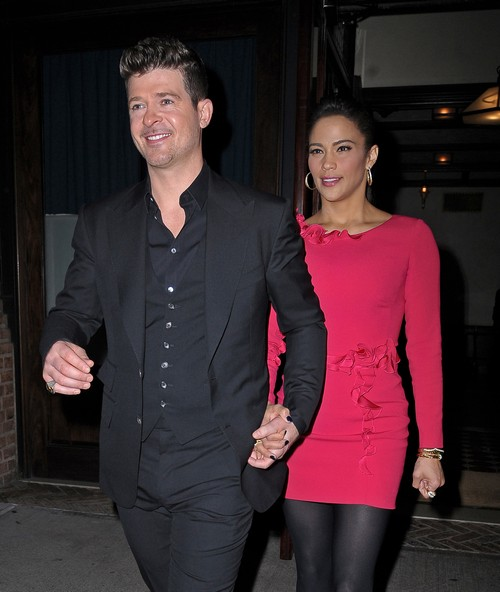 Robin Thicke Reveals Wife Paula Patton's Role Play Groupie Sex