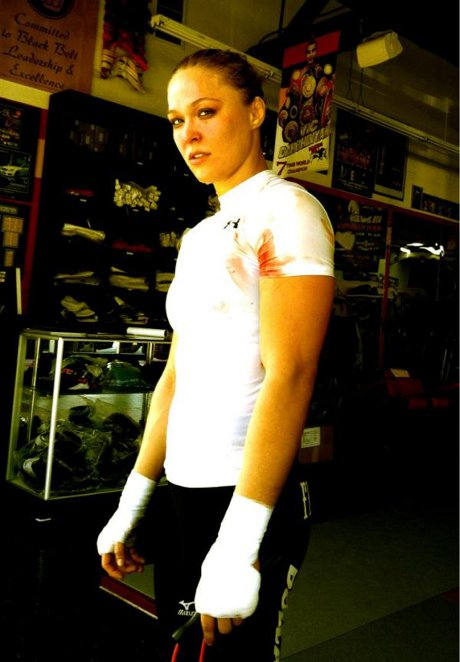 Ronda Rousey and Liz Carmouche Gear Up For First Major UFC Fight!