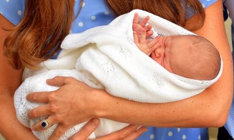 Royal baby born