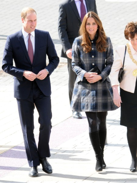 Kate Middleton Royal Baby Clothing Line Coming - She Trademarked Her Name! (Photos) 0404