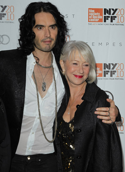 Helen Mirren Is Rooting For Russell Brand And Katy Perry To Get Back Together