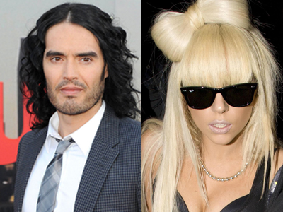 """Would Russell Brand And Lady Gaga Be The """"Perfect"""" Couple?"""