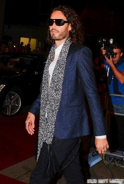 Russell Brand Bravely Calls Out Hugo Boss For Making Nazi Uniforms - GQ Kicks Russel Out!