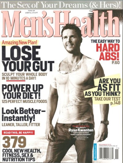Monday Man Candy: Ryan Kwanten Covers Men's Health