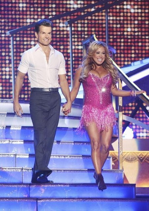 Sabrina Bryan Dancing With the Stars All-Stars Quickstep Performance Video 10/01/12