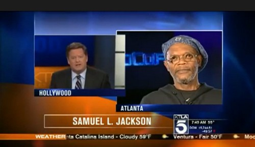Samuel L. Jackson Mistaken For Laurence Fishburne By KTLA's Sam Rubin - Will Rubin Be Fired? (VIDEO)