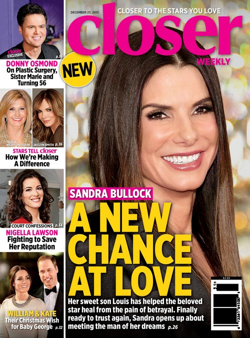 "Sandra Bullock Meets The ""Man Of Her Dreams"" (PHOTO)"