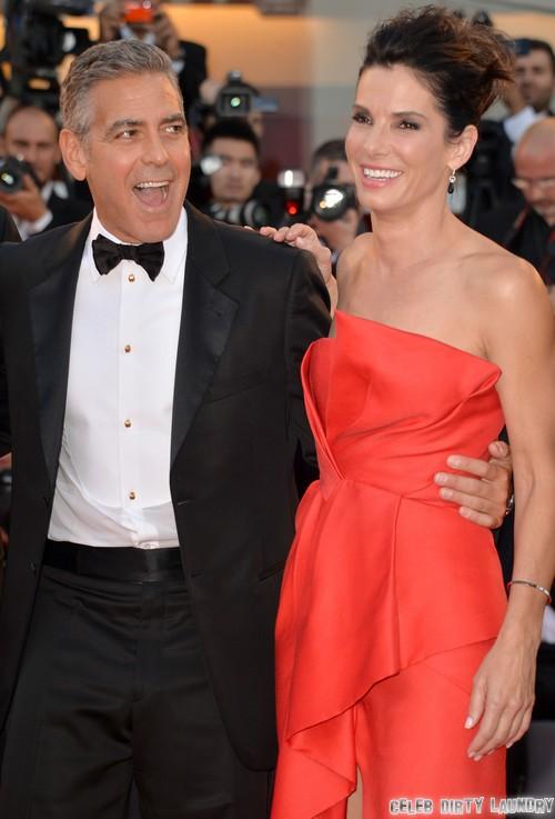 Sandra Bullock Heartbroken By George Clooney (Photos)