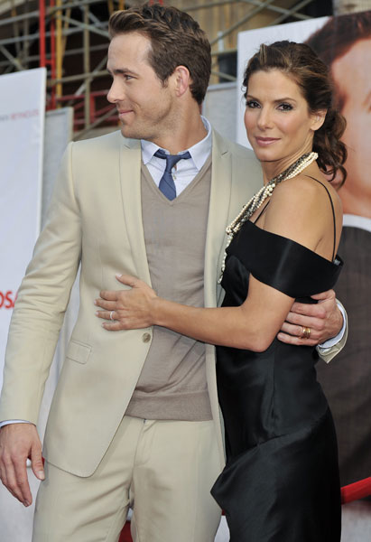 Sandra Bullock And Son Call Ryan Reynolds 'Daddy'
