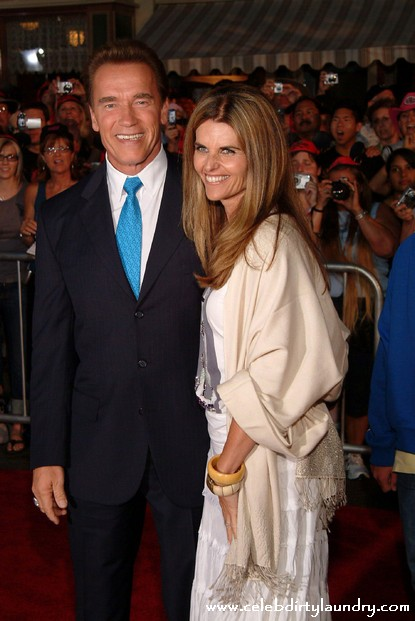 Arnold Schwarzeneggar And Maria Shriver Begin To Terminate Marriage