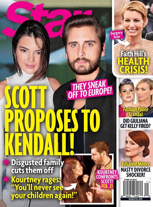 Scott Disick Proposed to Kendall Jenner: Engaged and Getting Married – Kourtney Kardashian's Little Sister Stole Baby-Daddy? (PHOTO)
