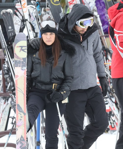 Kourtney Kardashian Hates Scott Disick's Excessive Spending: Luxury Skiing Vacation on a Tight Budget? (PHOTOS)