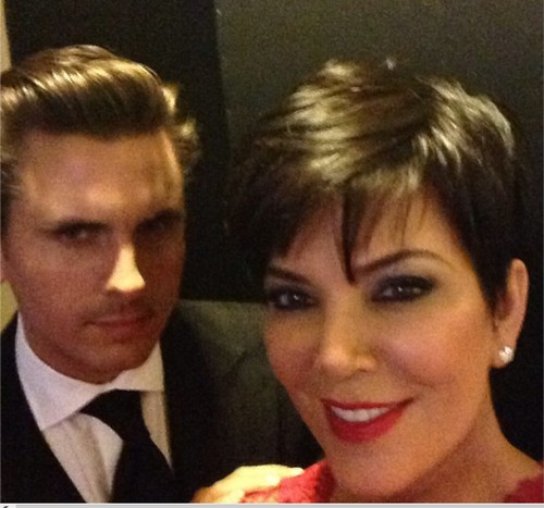 Scott Disick And Kris Jenner Cheating on Kourtney Kardashian and Having an Affair - Kris Fuels Twitter Rumor
