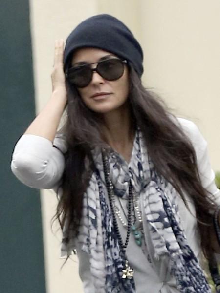 Demi Moore Skips Daughter's College Graduation - Ashton Kutcher Still Causing A Rift? 0527