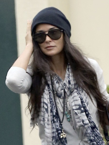 Demi Moore Skips Daughter's College Graduation - Ashton Kutcher Still Causing A Rift? 0527