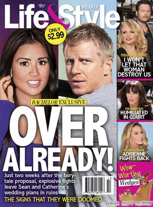Sean Lowe and Catherine Giudici Break Up – Marriage Off
