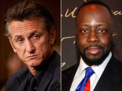 Sean Penn & Wyclef Jean Call A Truce and Join Forces To Help Haiti