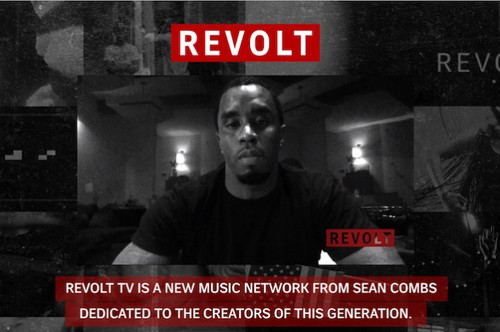 "Mr. Sean Diddy Combs Brings You Revolt TV: ""The One Source For All Things Music"""