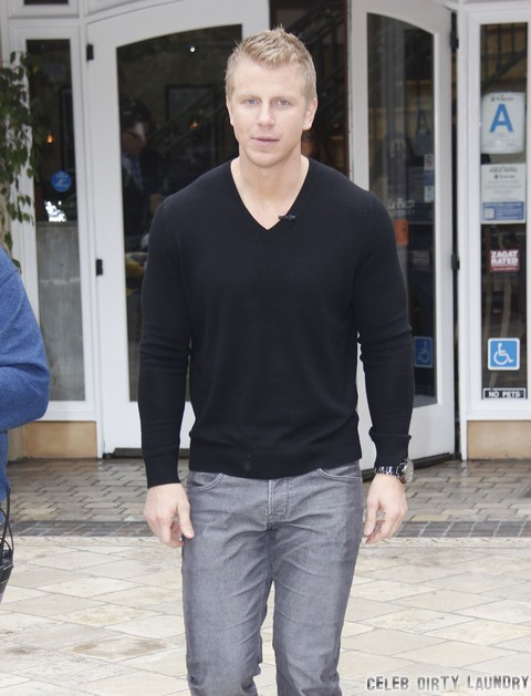 Sean Lowe and Catherine Giudici Fight In Public Over Peta Murgatroyd Dancing With the Stars Affair (Video)