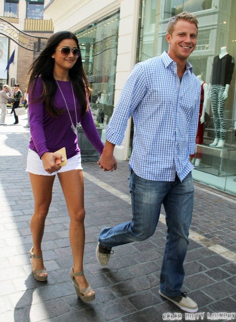 Sean Lowe and Catherine Giudici Pre-Wedding Stroll (Photos)