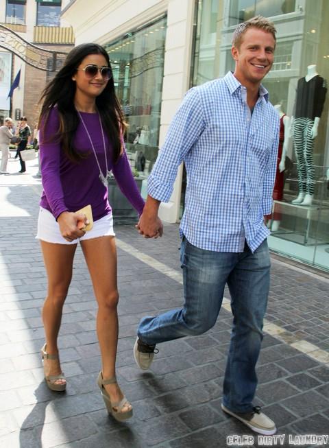Sean Lowe and Catherine Giudici Pre-Wedding Stroll (Photos)