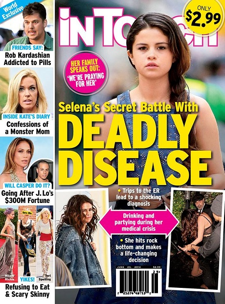 Selena Gomez Battles Deadly Disease - Drinking And Partying To Forget About Troubles?