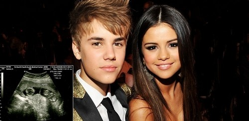 Selena Gomez NOT Pregnant and Expecting Twins by Justin Bieber - Hoax (PHOTO)