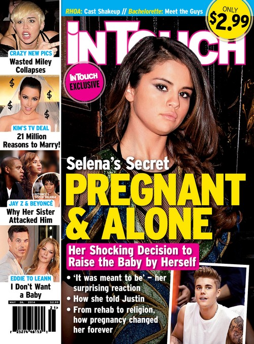 Selena Gomez Pregnant and Alone: Justin Bieber Revealed as Baby's Father (PHOTO)