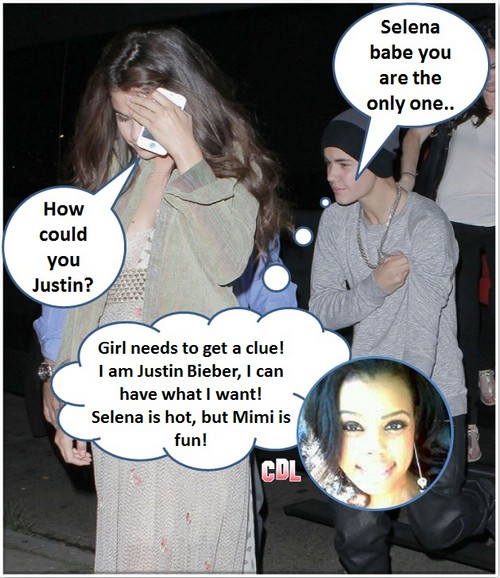Selena Gomez Ignores Justin Bieber After Sex With Mimi Jenson (Video)