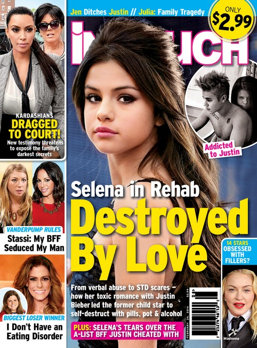 Selena Gomez Rehab Over STD Threat and Verbal Abuse From Justin Bieber (PHOTO)