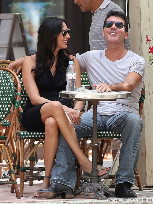 Simon Cowell Proposing Marriage to Lauren Silverman: X-Factor Engagement For Baby Mama?