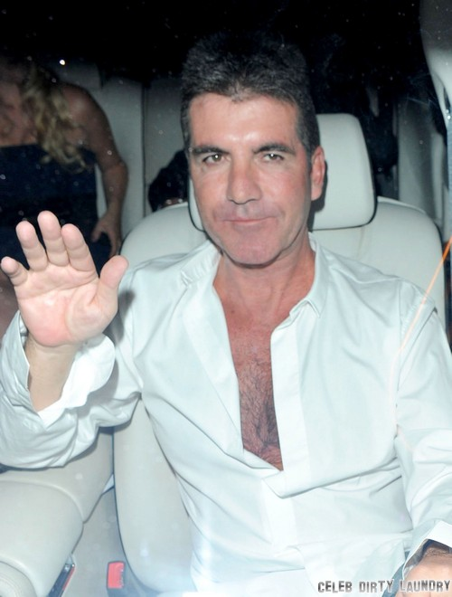 Simon Cowell Wears Makeup While He Vacations Without Lauren Silverman - Vain or Insane?