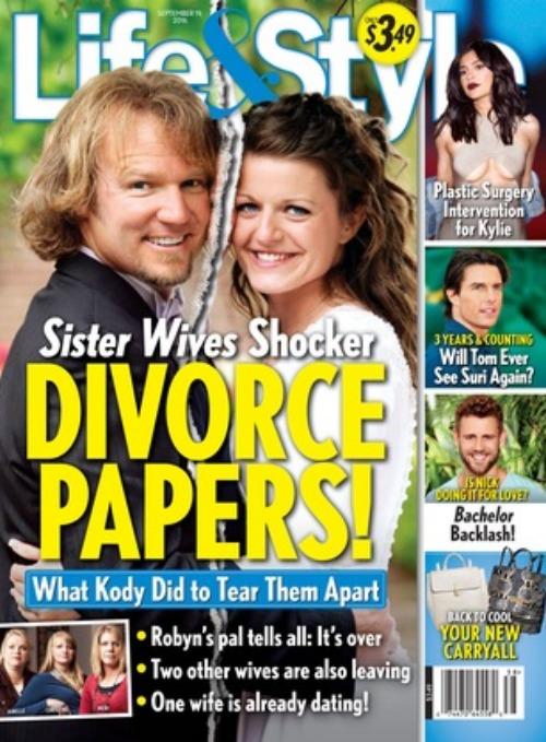 'Sister Wives' Divorce... Mila Kunis Kids