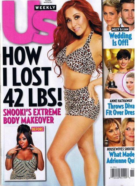 Snooki's Weight Loss Secrets Revealed: If She Can Do It So Can You!