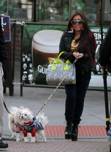 Snooki's Weight Loss Credited To Diet Pills and Laxatives – Back To Her Old Tricks?