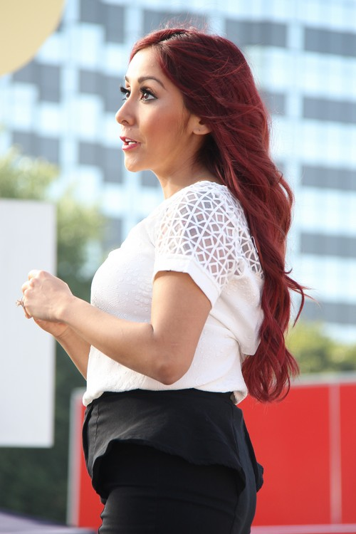 Nicole Snooki Polizzi Pregnant Again With Baby Number Two: Jionni LaValle Baby Daddy