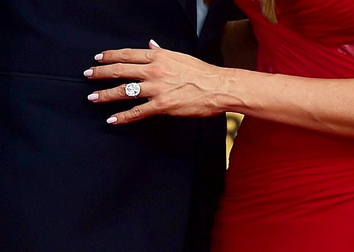 Jay Z Wedding Ring Sofia Vergara Flashes ...