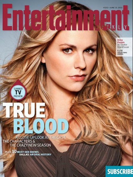'Entertainment Weekly' Releases 11 New Fangerific 'True Blood' Covers (Photos)