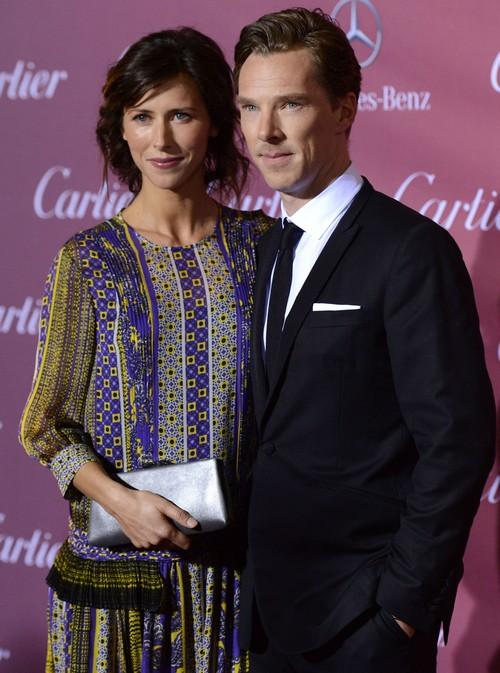 Benedict Cumberbatch and Pregnant Sophie Hunter Expecting Baby - Shotgun Wedding?