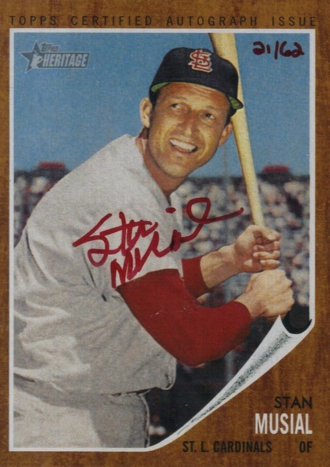 Baseball Legend Stan Musial Dead -  St. Louis Cardinal Dies At 92