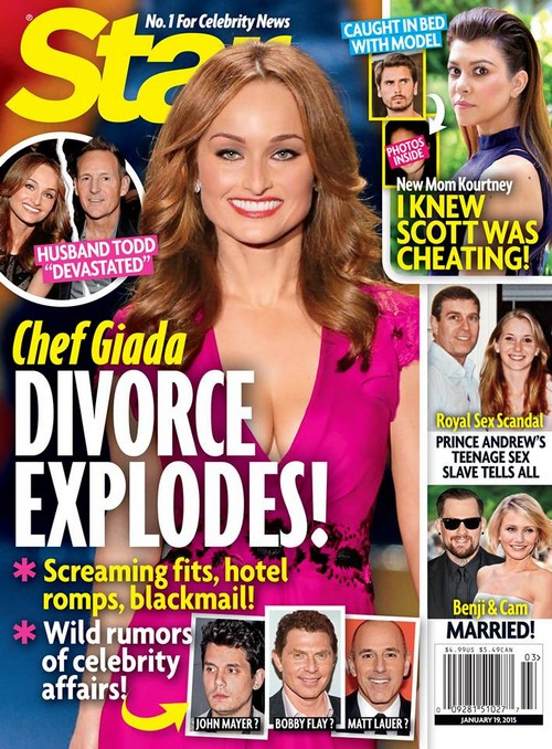 Giada De Laurentiis' Cheating and Divorce Scandal With John Mayer (Photo)