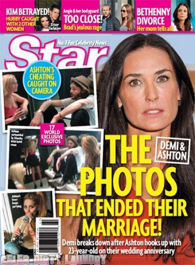 Star Magazine: The Ashton Kutcher Cheating Photos - Photo