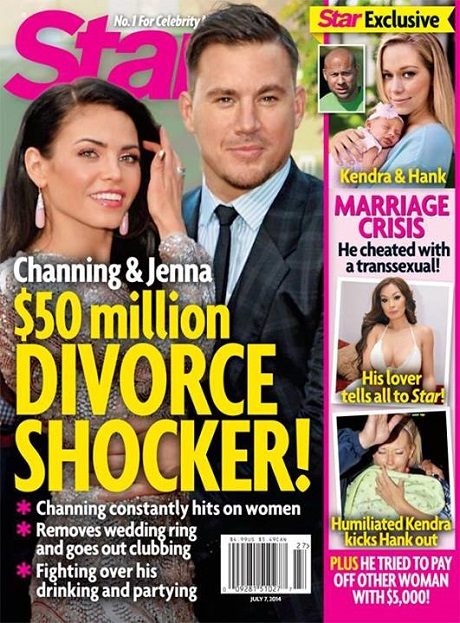 Channing Tatum Divorce Rumors: Jenna Dewan-Tatum Furious as Boozy Partying Gets Out Of Control! (PHOTO)