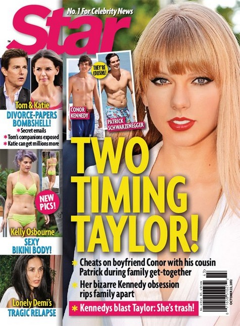 Taylor Swift Cheats On Conor Kennedy With Patrick
