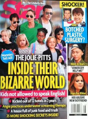 Angelina Jolie And Brad Pitt's Children Lead Bizarre Lifestyle: Forced To Do Underwater Scream Therapy And Speak Everything But English!