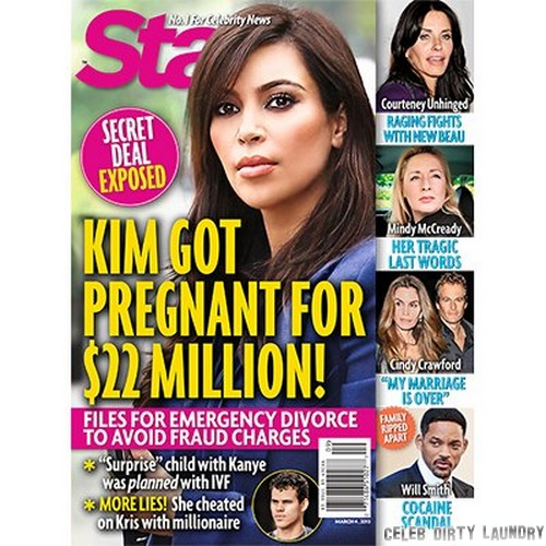 Kim Kardashian Got Pregnant For $22 Million! (Photo)