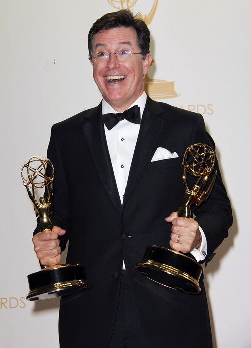 """Stephen Colbert Named David Letterman's Replacement - Hired as CBS """"Late Show"""""""