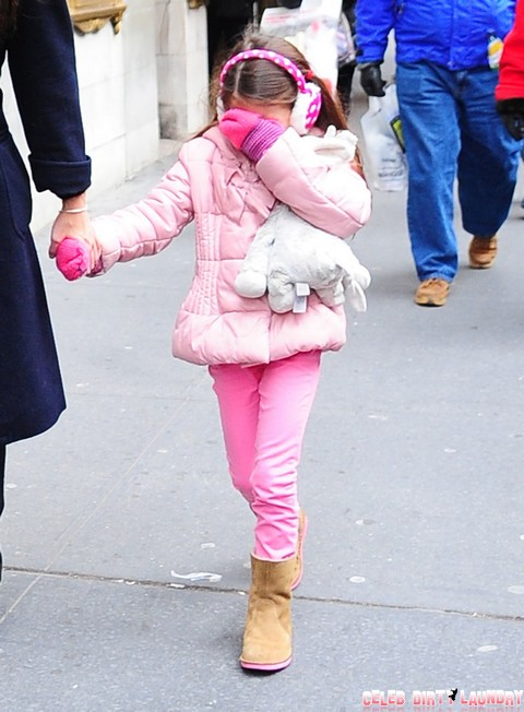 Katie Holmes And Tom Cruise Nasty Fight Over Suri Cruise Modeling Gig