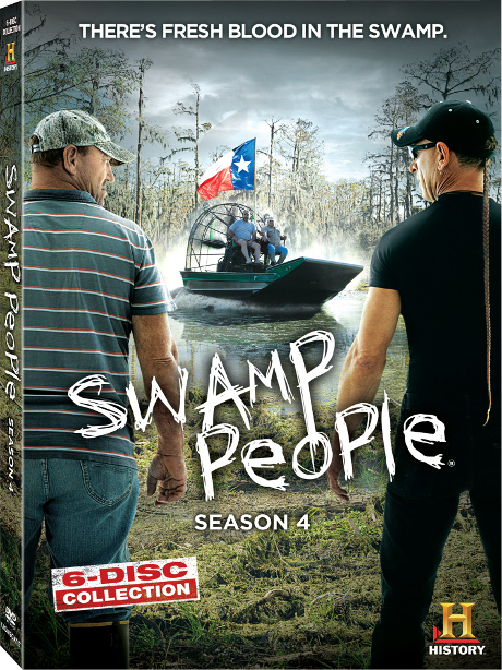 CDL Giveaway: Win Swamp People Season 4 DVD Box Set To Get Caught Up For Season 5!