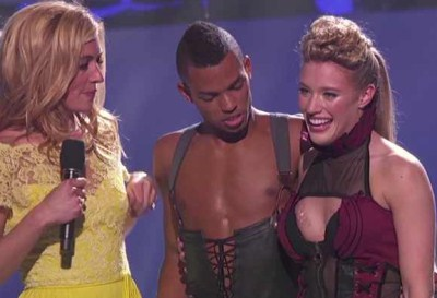 Ryan, she is one of the best dancers. This is a nail biting moment